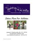 the new Detox Plan For Athletes is available!  woohoo :)