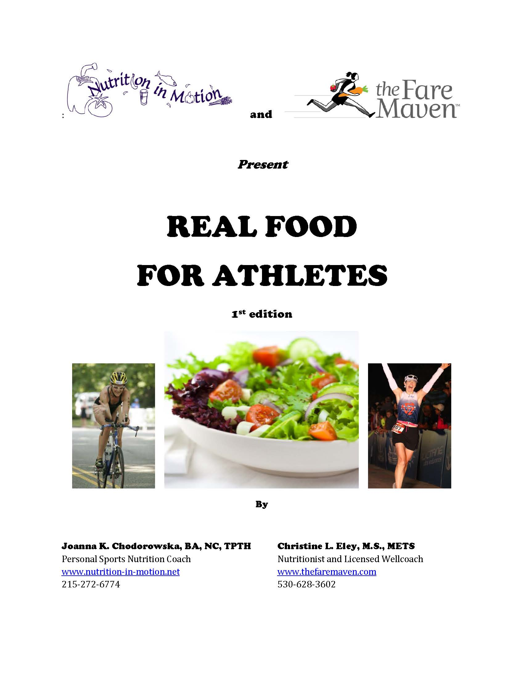 Real Food For Athletes book is here!